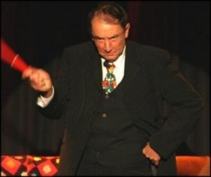 Claude Allain sur scène