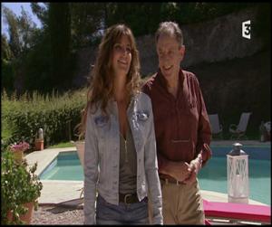 Claude Allain dans la série Plus belle la vie avec Laetitia Milot