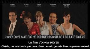 L'affiche du film Chérie, ne m'attends pas pour dîner ce soir,… avec Claude Allain