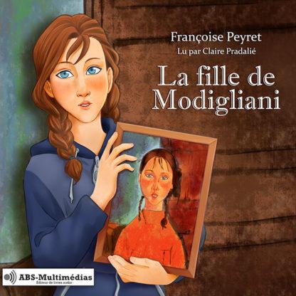 Livre audio La fille de Modigliani