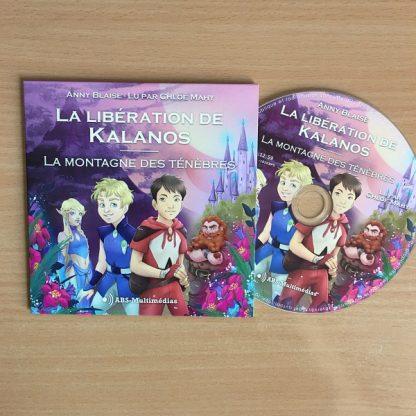 CD Livre audio La libération de Kalanos Tome 1