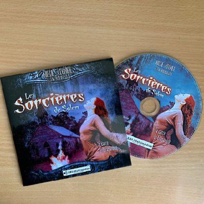 CD livre audio Les Sorcières de Salem, Tome 5 – La danse du Chapardeur