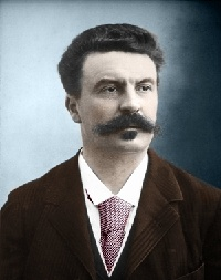 Portrait Guy de Maupassant