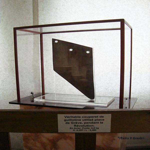 couperet de guillotine
