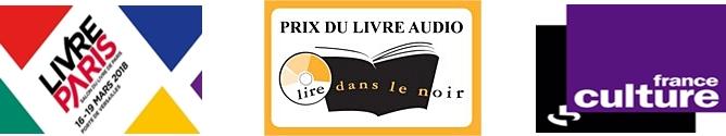 Logo France Culture, lire dans le noir, Livre Paris