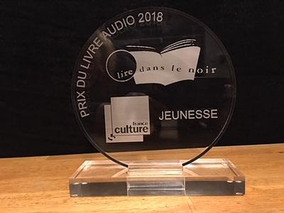 Prix du livre audio France Culture – Lire dans le noir 2018