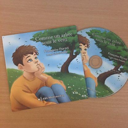 CD Livre audio Comme un arbre sous le vent